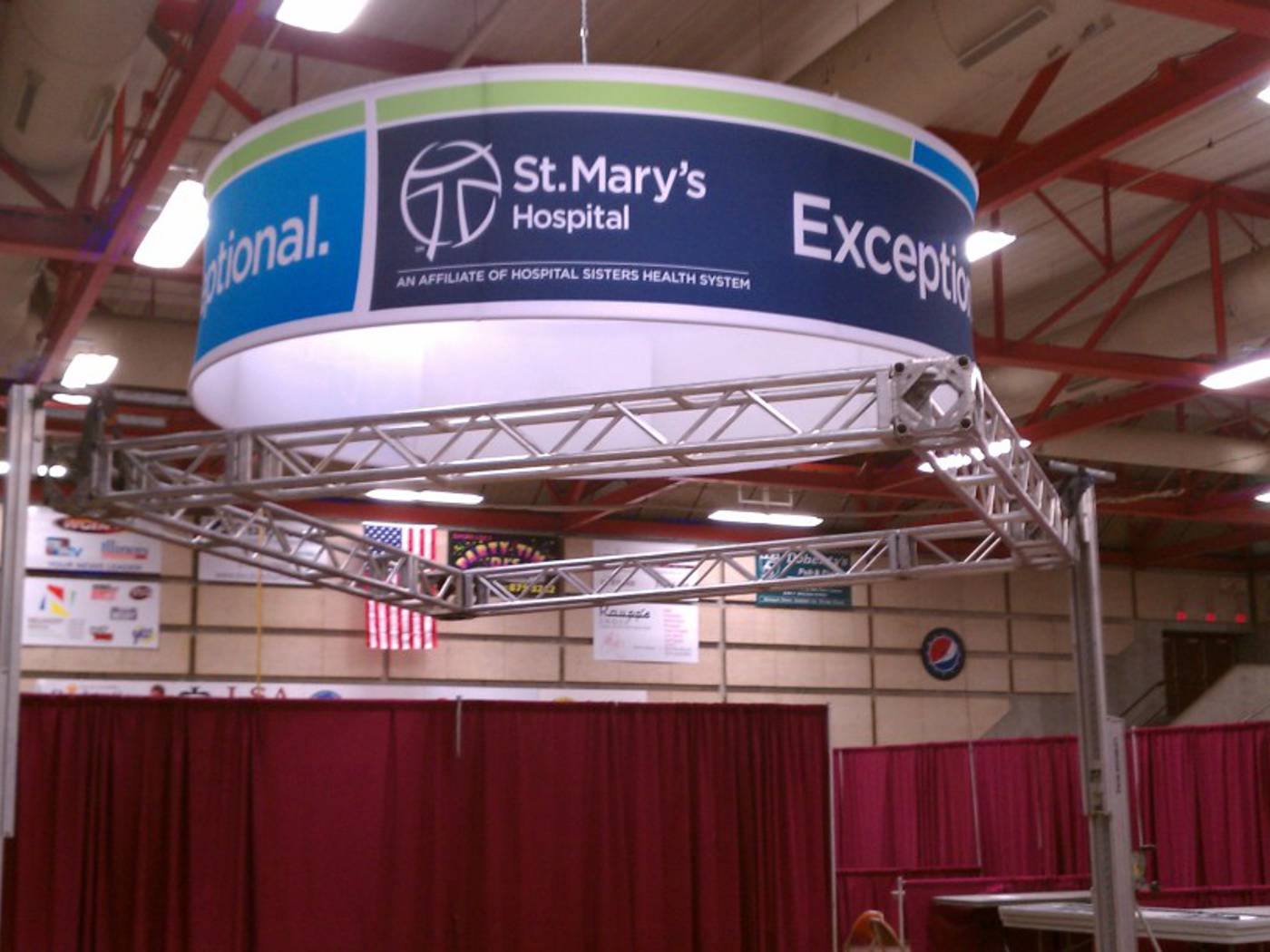 Tradeshow Signage - HSHS St. Marys Hospital - Decatur, IL