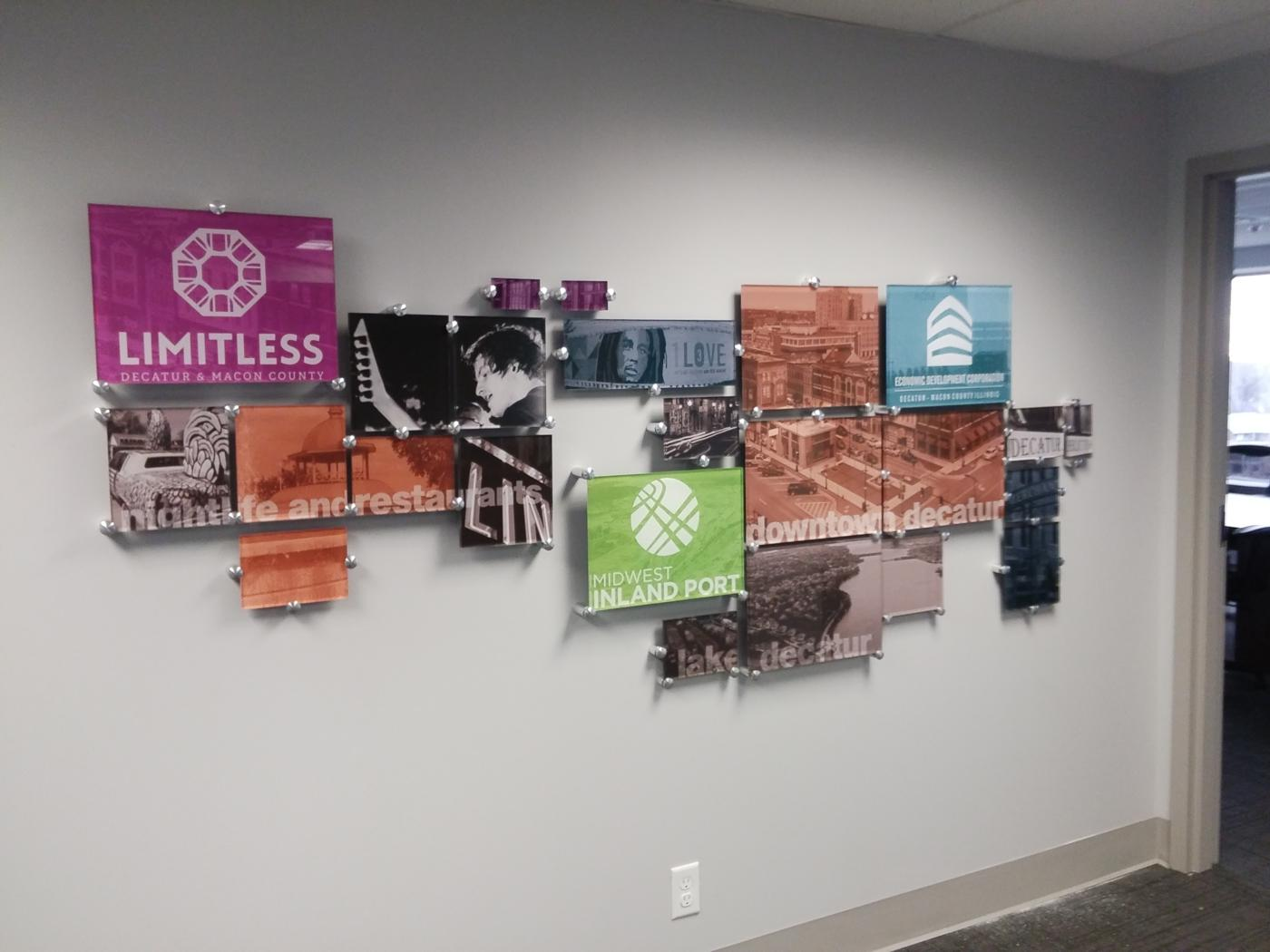 Wall Decor for Limitless - Decatur, IL