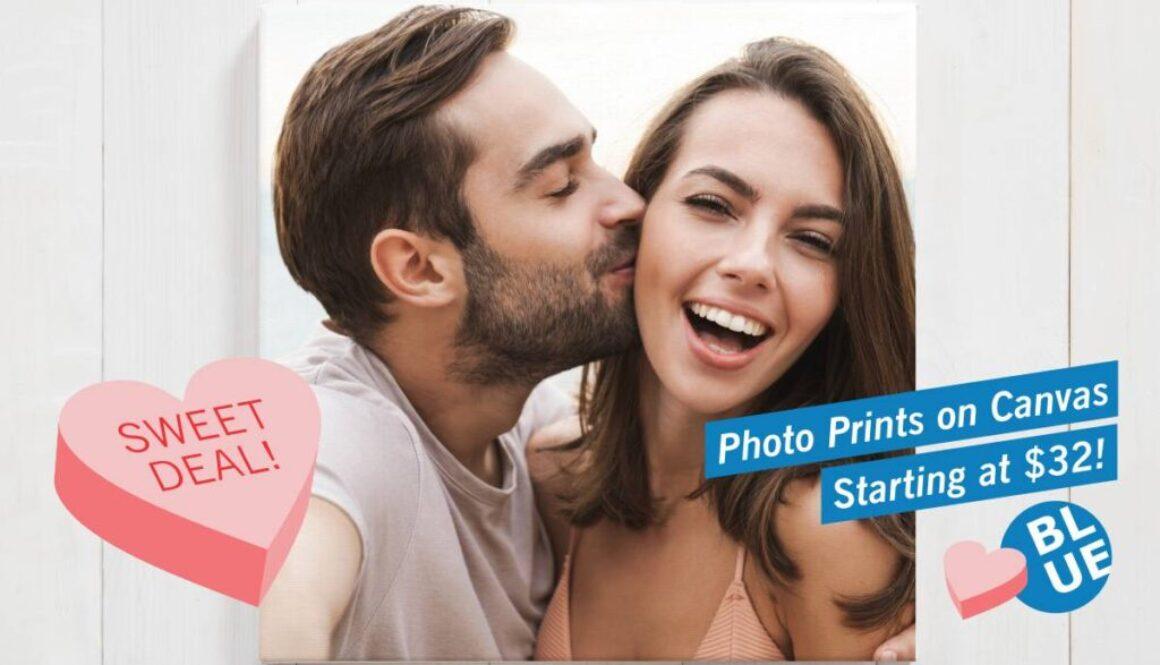 Valentines Special - Photo Prints on Canvas - Starting at $32