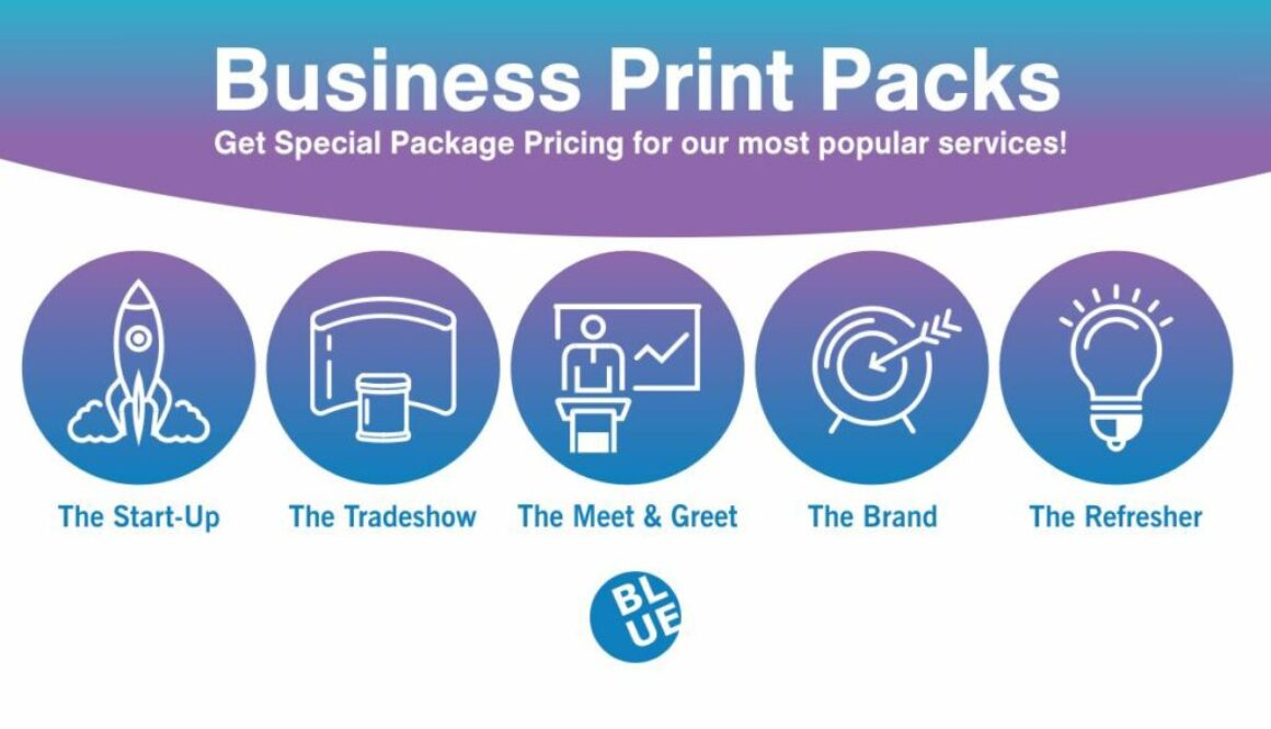 Decatur Blue Print - Business Print Packs