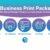Decatur Blue Print - Business Print Packs